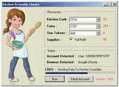 Kitchen Scramble Cheats  http://jeuxcheats.com/kitchen-scramble-cheats-hack/
