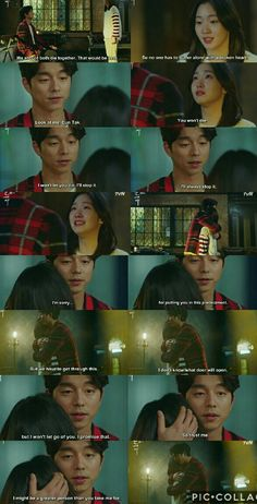We'll get through this, together. ❤ Web Drama, Drama Drama, Being Human Bbc, Goblin The Lonely And Great God, Goblin Korean Drama, Goblin Gong Yoo, Goblin Kdrama, Korean Drama Quotes, Yoo Gong