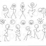 stick figures to use for a DRAW MY LIFE video