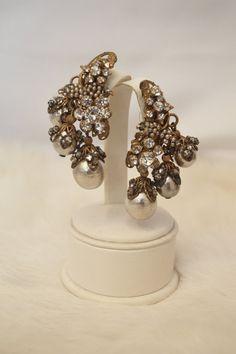 Vintage Bridal Miriam Haskell Couture Statement by MirandasBridal