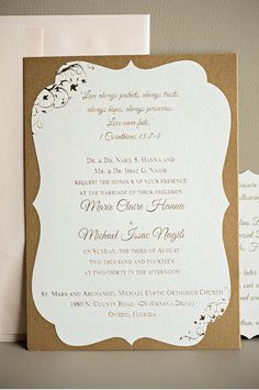 Elegant Blush and Gold Wedding Invitation Suite | Kristen Weaver Photography
