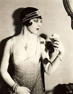 Alma Bennett, from The Silent Lover, 1926