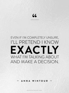 A Complete Roundup of Anna Wintour's Best Career Advice Ever via @WhoWhatWearAU