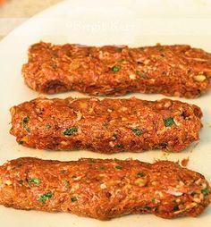 Birgit's Daily Bytes: Cevapcici (Balkan Sausages/Meat rolls) LC, GF, SF