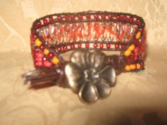 A triple row bead wrap...I love making this bracelet.. Creations by Edna
