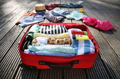 When packing, decide what to roll and what to fold. This simple tip can help you to save a lot of space in your luggage.