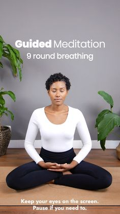 9 Round Breathing technique // calm down your mind The benefits of this #breathing technique are endless, it promotes your #health, boosts your #concentration and #energizes you when you are feeling low   The #visualization helps you focus your attention completely on the breath. #Connecting the mind to the breath and actively working on #releasing any negative thoughts!   #Meditation#Yoga#forsleep#foranxiety#forhealing#forbeginners#spirituality#midfulness#morning#innerpeace#videos#visualization