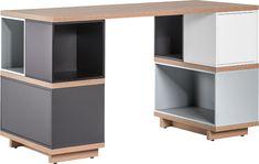 Scrivania Balance by Vox Balance Bureau Design, Modular Furniture, Cool Furniture, Wide Bookcase, Narrow Shelves, Doors And Floors, H Design, Desk Pad, Flooring Store