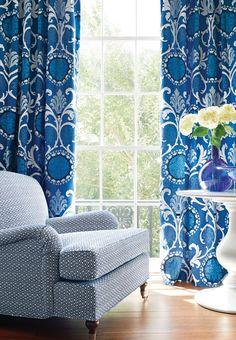 Thibaut Fine Furniture, Market Square, 260; Banyan Embroidery  #designonhpmkt #Thibaut_1886
