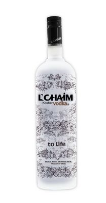 L'CHAIM Vodka from Israel.