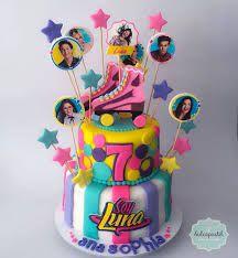 Torta Soy Luna Medellín - cake by Giovanna Carrillo - CakesDecor Roller Skating Party, Skate Party, Pretty Cakes, Cute Cakes, Soy Luna Cake, Roller Skate Cake, Kids Party Themes, Festa Party, Disney Cakes
