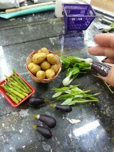 Miniature vege from clay...yenji