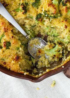 Cheesy Broccoli Quinoa Casserole | Confections of a Foodie Bride