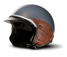 Vintage Motorcycle Helmet.