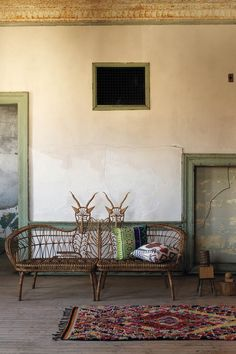 anthropologie springbok benches