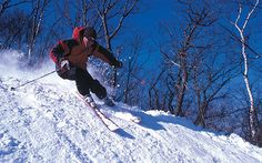 You don't have to head for the Rockies: there is great skiing a short drive   from Manhattan, says Darren Taffinder.