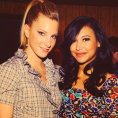 Heather Morris & Naya Rivera or better known as BRITTANA or SANTITTANY