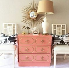 Painted faux bamboo furniture design 15 - All About Bamboo Furniture, Painted Furniture, Furniture Design, Coral Furniture, Bamboo Chairs, Smart Furniture, Plywood Furniture, Chair Design, Furniture Ideas