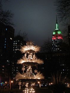 Beautiful Christmas light scene -- Christmas in NYC | Flickr - Photo Sharing!