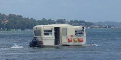 vintage-trailer:  Water caravan