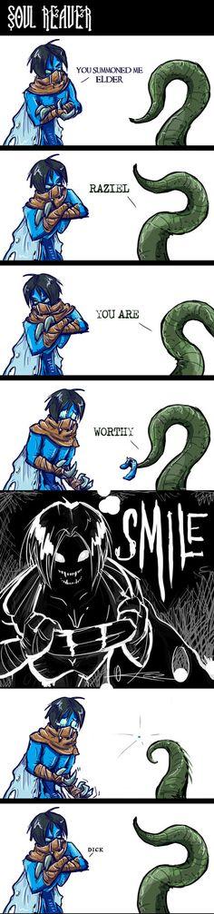 Comic   Soul Reaver by FearDaKez