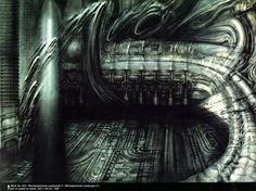 Biomechanical Landscape II, by H.R. Giger From H.R. Giger's Necronomicon