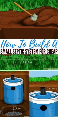 Managing Human Waste During SHTF How To Build A Small Septic System For Cheap — Knowing how to safely and efficiently get rid or process your own waste is vital for survival. If you do not you could be headed to some really nasty medical problems. Diy Septic System, Septic Tank Systems, Homestead Survival, Survival Prepping, Survival Skills, Survival Gear, Survival Equipment, Off Grid, Garden Ideas Diy Cheap