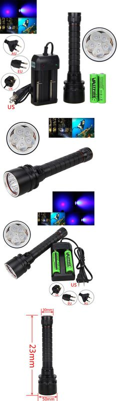Lights 29575: Dive 100M 390Nm 50W 5 X Uv Led Scuba Diving Hunting Flashlight 2X18650 Torch -> BUY IT NOW ONLY: $31.94 on eBay!