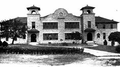 Trinity Lutheran College, Round Rock, TX, founded by Augustana Lutheran Synod Round Rock Texas, Williamson County, Texas History, Lutheran, Historic Homes, Colleges, Schools, This Is Us, Mansions