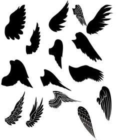 FREE WINGS ~ KLDezign les SVG: Des ailes!