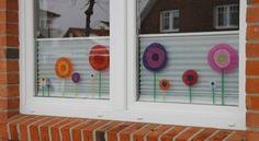 Fensterdeko Blumen