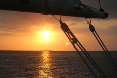 The perfect sail...Calm sea, Light breeze, glass of wine, and Key West Fl. What a night.  Photo by Kevin O'Connor, 2013