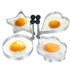 Different Shapes Stainless Steel Cooking Fried Fried Baking Egg Mold New * Find out more about the great product at the image link.