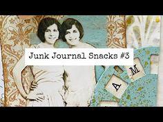 Junk Journal Snacks #3 - Bitesized Inspiration For Your Journal! - YouTube