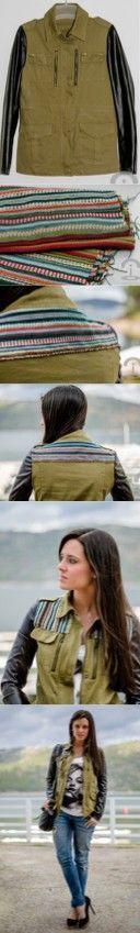 DIY Crimenes de la Moda - Ethnic jacket - Chaqueta militar