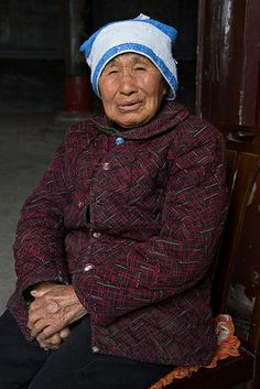 ˚Dignity - Lady at 82 - China