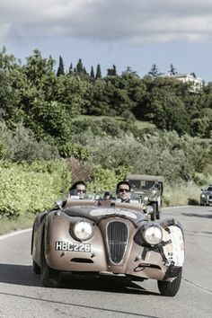 David Gandy - The Mille Miglia - One of the greatest adventures of my life (Vogue.com UK)