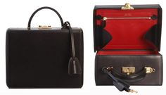 MARK CROSS | Grace large leather box bag