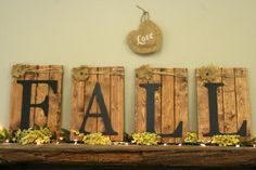 Halloween Home Decor Autumn Decor Fall Decor Thanksgiving Pallet Sign Rustic Shabby Chic Farmhouse Chic Country Accent Fall Wall Art on Wanelo