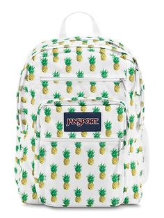 The new JanSport Big Student Backpack in Multi Tropic Gold is a large backpack for anyone on the go.