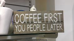 Set your priorities: Buzz FIRST, people SECOND, work LAST and FAST. Lets make a great world together. The Geetered coffeeFIEND.