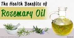 Here are interesting facts about the fragrant and versatile rosemary oil, including its benefits, uses, and composition. http://articles.mercola.com/herbal-oils/rosemary-oil.aspx