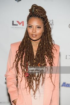 Actress Eva Marcille attends the Annual Celebration 4 A Cause Fashion Show at King Plow Arts Center on December 22 2016 in Atlanta Georgia. Box Braids Hairstyles, My Hairstyle, African Hairstyles, Girl Hairstyles, Evening Hairstyles, Hairstyles 2018, Hair Cute, Love Hair, Eva Marcille
