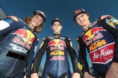 Hanika, Kent and Miller in Red Bull KTM Ajo trim