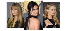From Gigi Hadid's sharp fringe and Kendall Jenner's cascading ponytail, to Cara Delevigne's dark lips and Charlize Theron's triple bun, the fashion brigade rocked this season's beauty trends with style on the MTV Movie Awards 2016 red carpet. Our top statement looks.