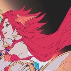 Miss Fortune, League Of Legends Characters, Lol League Of Legends, Blue Anime, Friend Anime, Avatar Couple, Watercolor Sketch, Mobile Legends, Cute Icons