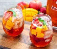 For these ice pops, I took my favorite Ice Tea Sangria Cocktails and turned them into popsicles. These adults-only sangria popsicles are loaded with fresh fruit and are a refreshing, boozy treat. Sangria Party, Summer Sangria, Party Drinks, Fun Drinks, Yummy Drinks, Beverages, Sangria Cocktail, Red Sangria, Summer Cocktails
