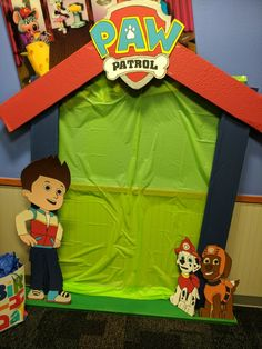 Paw Patrol party backdrop