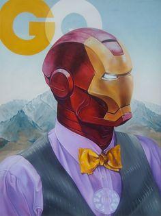 Dapper Ironman.