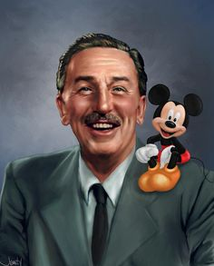 Walt Disney He created my favorite place on earth! Walt Disney World! Disney Kunst, Arte Disney, Disney Art, Disney Pixar, Retro Disney, Vintage Disney, Disney Love, Sad Disney, Disney Stuff
